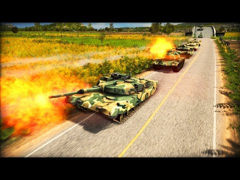 BREAKING: NORTH KOREAN TANKS CROSS DMZ, US NAVY SINKS RUSSIAN FLEET | Wargame: Red Dragon Gameplay