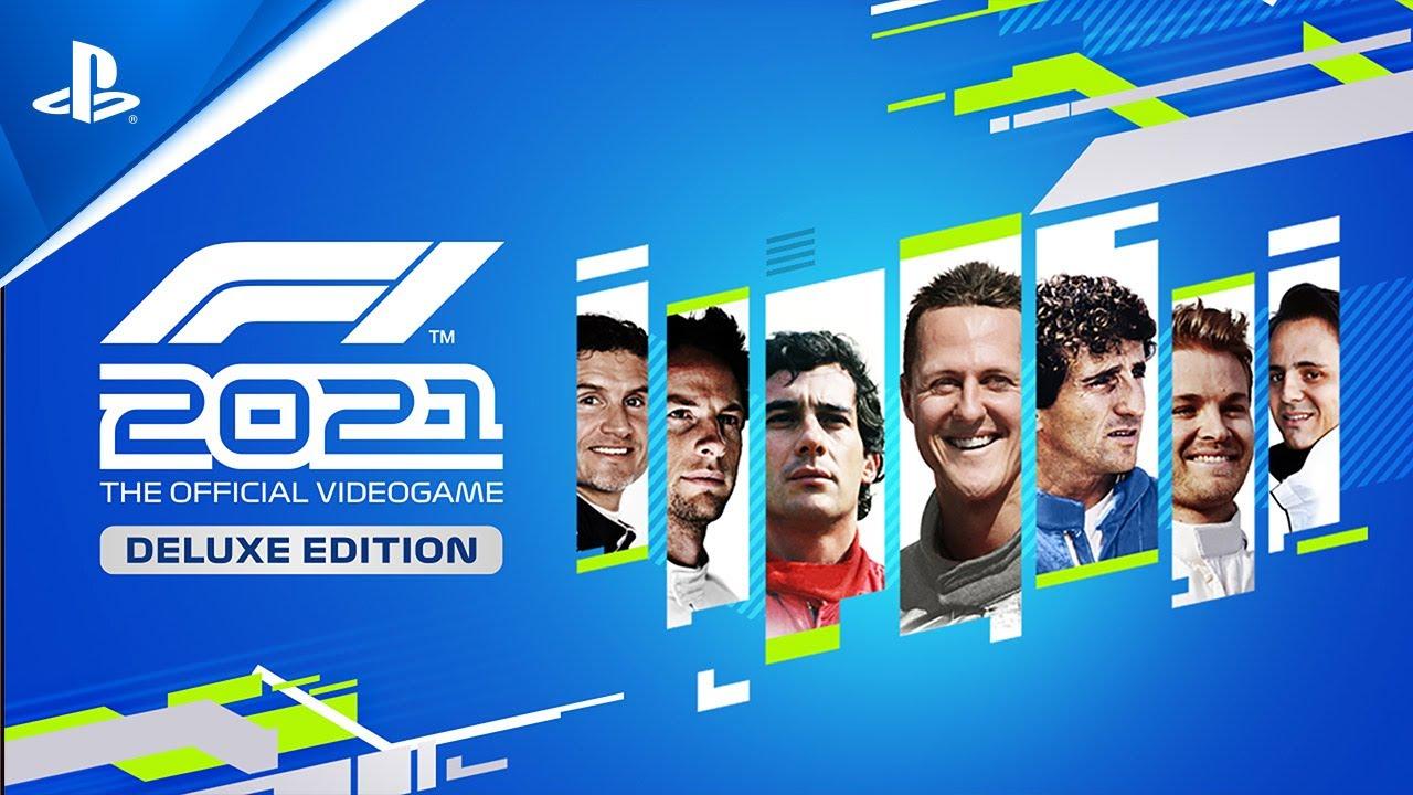 العرض التشويقي للكشف عن سائقي إصدار Deluxe الرقمي للعبة F1 2021