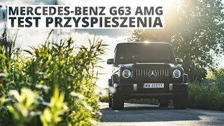 Mercedes-Benz G63 AMG 4.0 V8 585 KM (AT) - acceleration 0-100 km/h