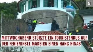 Madeira: Zahlreiche Tote bei Busunglück