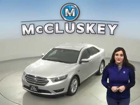 R17844NA Used 2015 Ford Taurus SEL AWD Silver Sedan Test Drive, Review, For Sale -