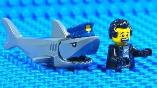 Lego Police Shark - Robbery Fail