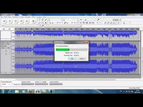 Audacity - Karaoke Vocal Removal