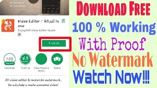 Free Download Video Show pro new version android apk 100% Working No Watermark | VideoEditor Mod Apk