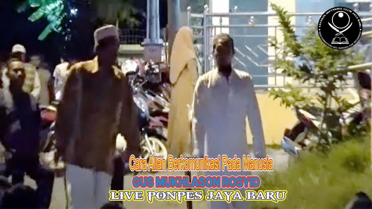 Live Ponpes Jaya Baru (Cara Allah Berkomunikasi Pada Manusia)