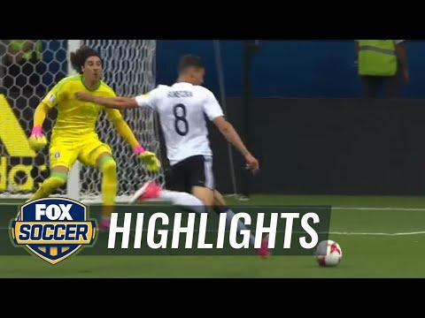 Leon Goretzka scores two quick goals vs. Mexico   2017 FIFA Confederations Cup Highlights