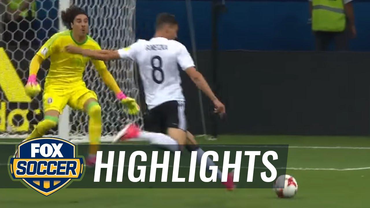 Leon Goretzka scores two quick goals vs. Mexico | 2017 FIFA Confederations Cup Highlights
