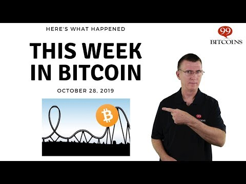 This Week In Bitcoin - Oct 28th, 2019