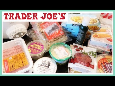 Trader Joe's Haul (With Weight Watchers Points Plus)
