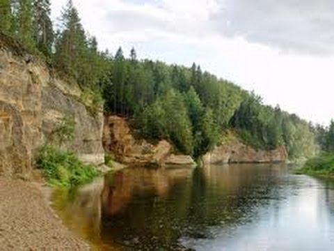 Латвия моя планета , Сплав по реке Гауя путешествуем по прибалтике