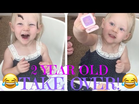 Eleiana takes over YouTube| 2 Years Old