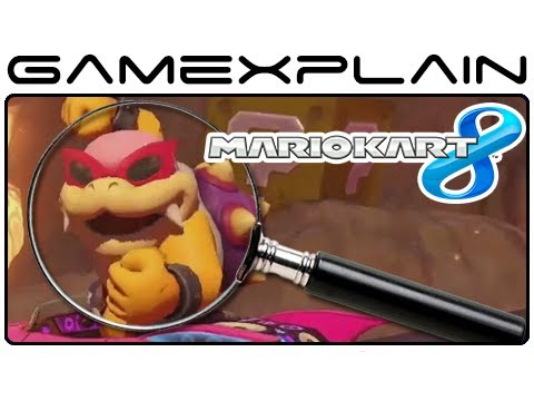 Mario Kart 8 Analysis - Koopalings (Secrets & Hidden Details)
