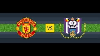 Манчестер Юнайтед - Андерлехт |  Лига Европы | 1/4 финала | Man United - Anderlecht | 20.04.17