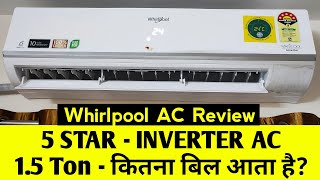 Whirlpool AC review   Whirlpool AC remote function   Best AC in india 2020   AC 8 घंटे का Bill कितना
