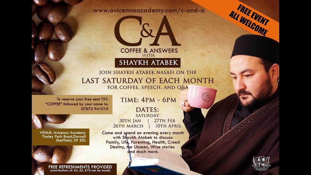 Coffee & Answers with Sh.Atabek - Series 1