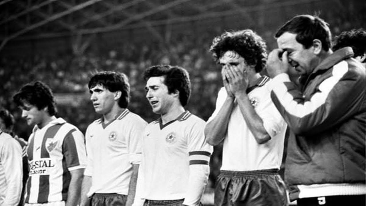 Hajduk Split - Crvena Zvezda 1:3 (1980.) - YouTube