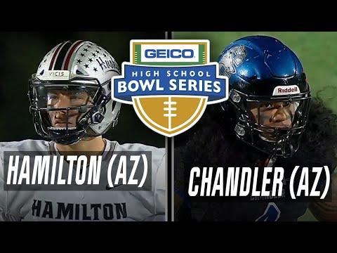 Hamilton (AZ) vs Chandler (AZ) - GEICO High School Bowl Series - ESPN Broadcast Highlights