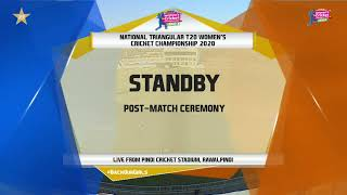 Live - Challengers vs Dynamites| Women National T20 2020 | PCB