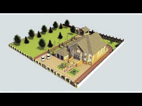 Ландшафтные дизайн проекты.