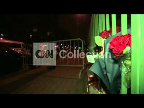 FRANCE:FLOWERS LAID OUTSIDE CHARLIE HEBDO OFFICES