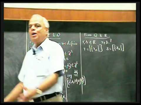 Lecture 13: Arithmetic of Real Numbers