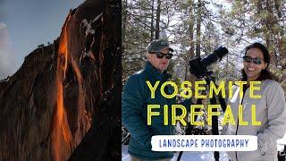 Yosemite Firefall Photography