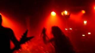 Watain - Wolves Curse live@ Ivory Blacks, Glasgow 2011/03/08