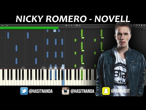 Nicky Romero - Novell (Piano Tutorial)