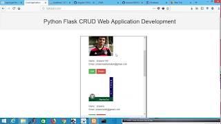 Python Flask CRUD and Angular Firebase CRUD Application Development