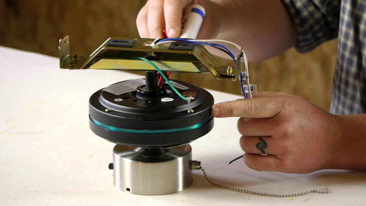 How to Fix a Ceiling Fan With a Slow Motor : Ceiling Fan