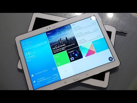 Galaxy TabPRO 10.1 hands-on preview: video & gallery