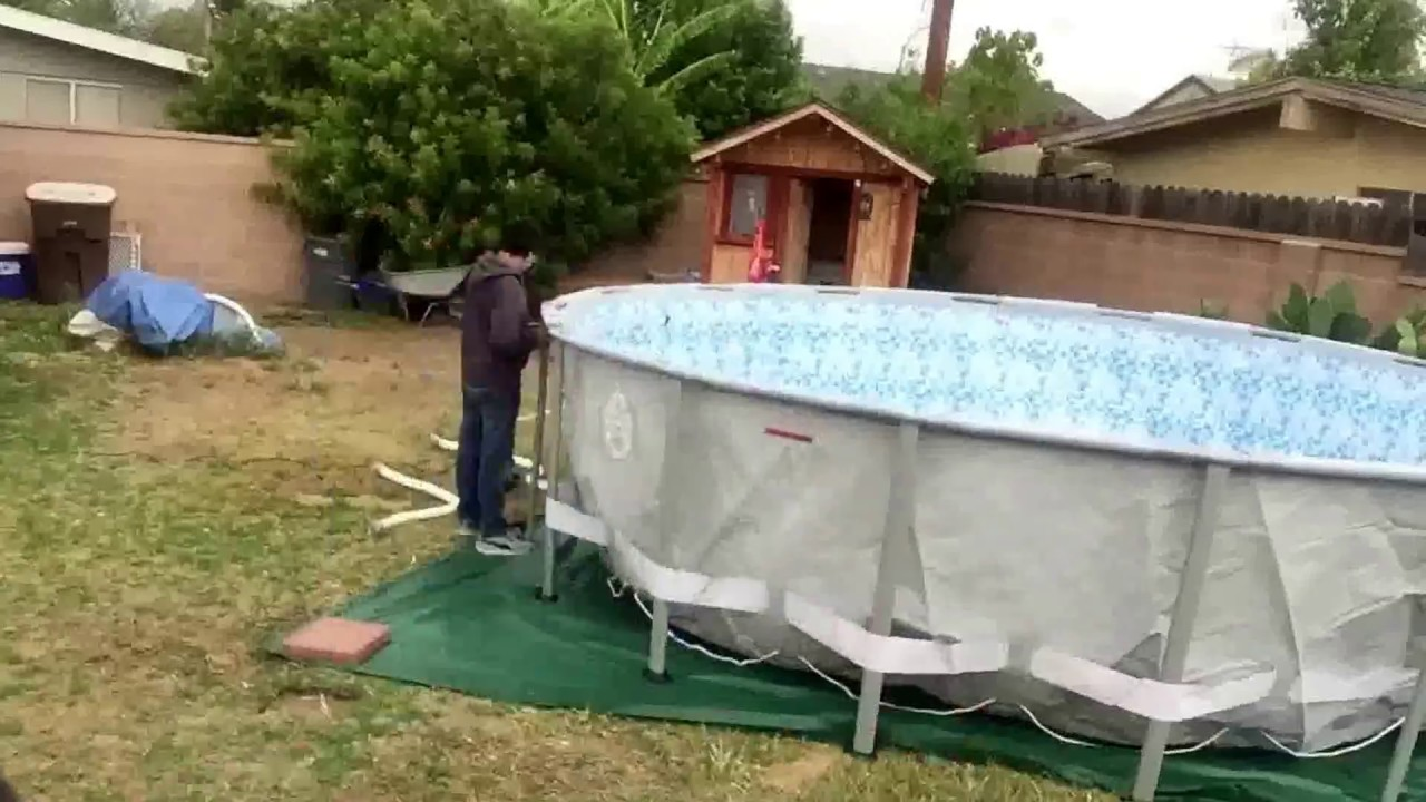Coleman Pool Above Ground 2015 18 X 52 Quot Youtube