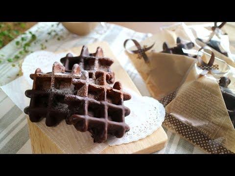 Rich chocolate  Waffles 秋だもん。ちょこたっぷりチョコワッフル♪