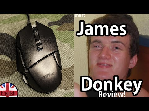 Ultimate James Donkey Gaming Mouse REVIEW!
