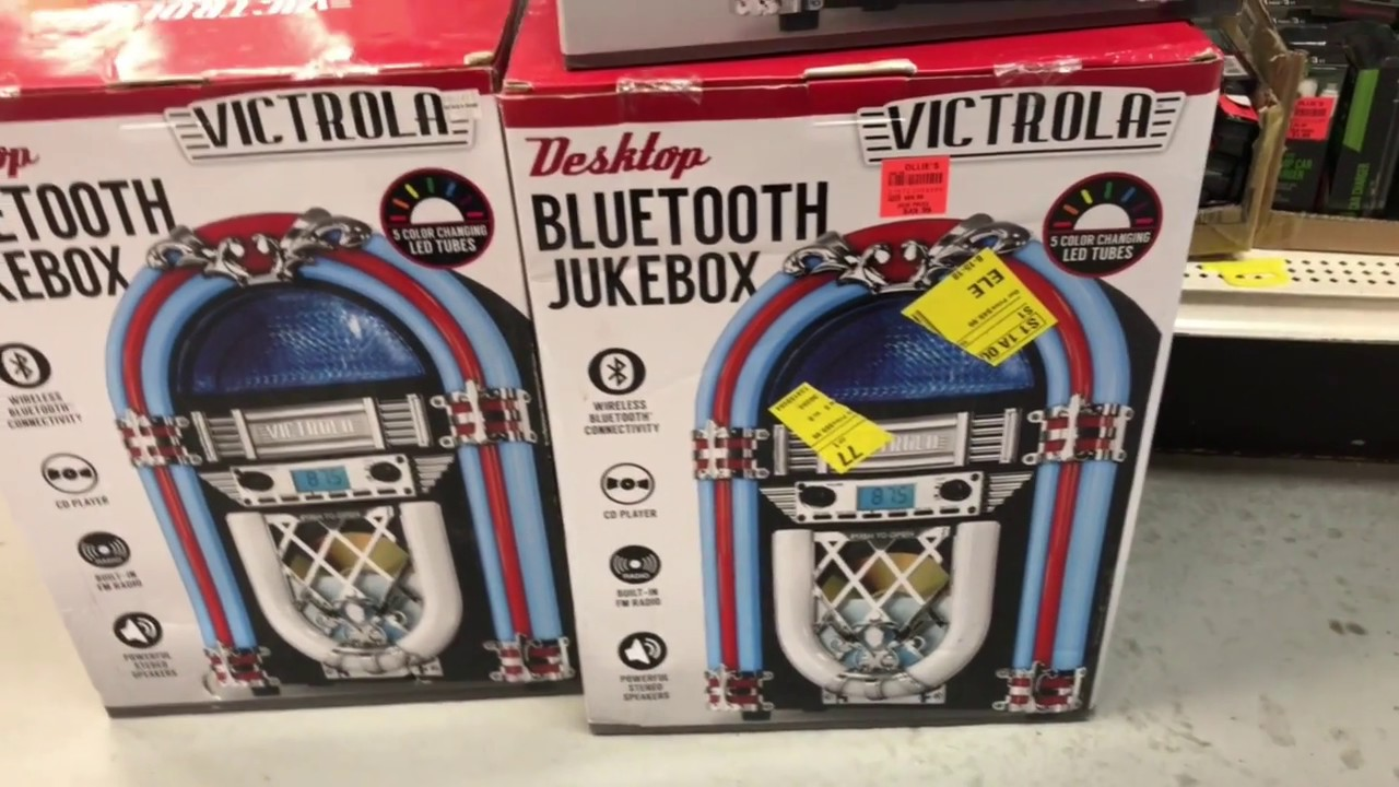 Bluetooth Jukebox at Ollie's