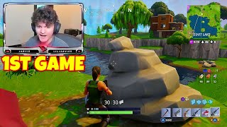 i used FaZe Jarvis' first fortnite win guns...