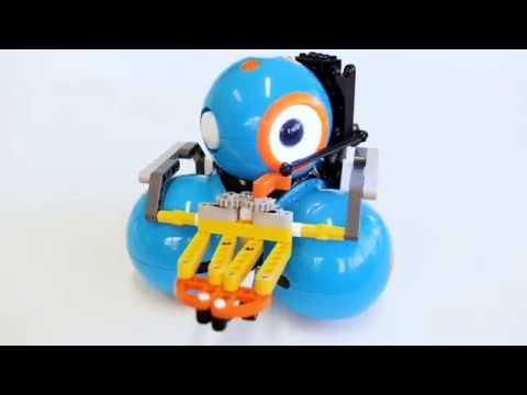 Gripper Building Kit Featuring Dash Robot | Wonder Workshop