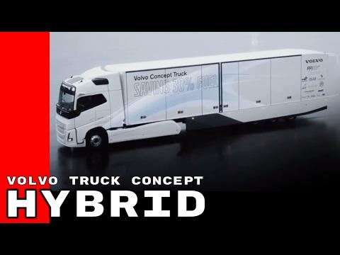 Volvo Truck Concept With Hybrid Powertrain