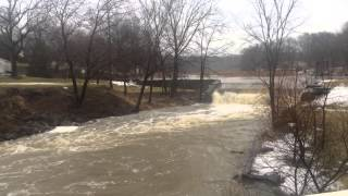 Tuscarawas River Damn Tritts Mill Pond