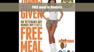 Eat Free On Veterans Day 2013 At These Restaurants