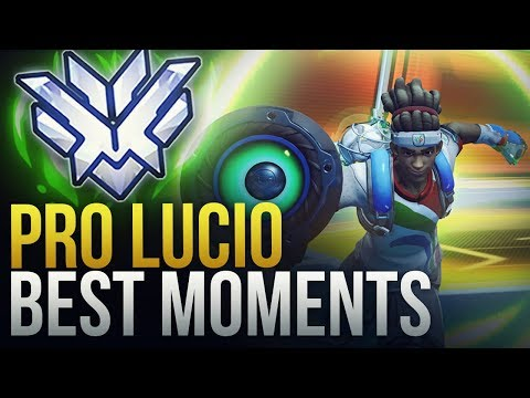 BEST PRO LUCIO MOMENTS - Overwatch Montage thumbnail