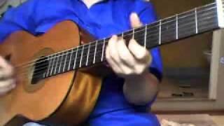 cherrypink blossom ,cha-cha- guitar instrumental
