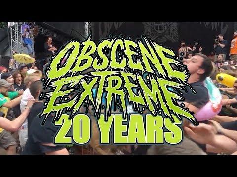 Full Documentary: 20 YEARS OBSCENE EXTREME FESTIVAL ANNIVERSARY