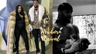 SEE More Of Safaree Being A GirlDAD On Newborn Arrival 👶🏽💝