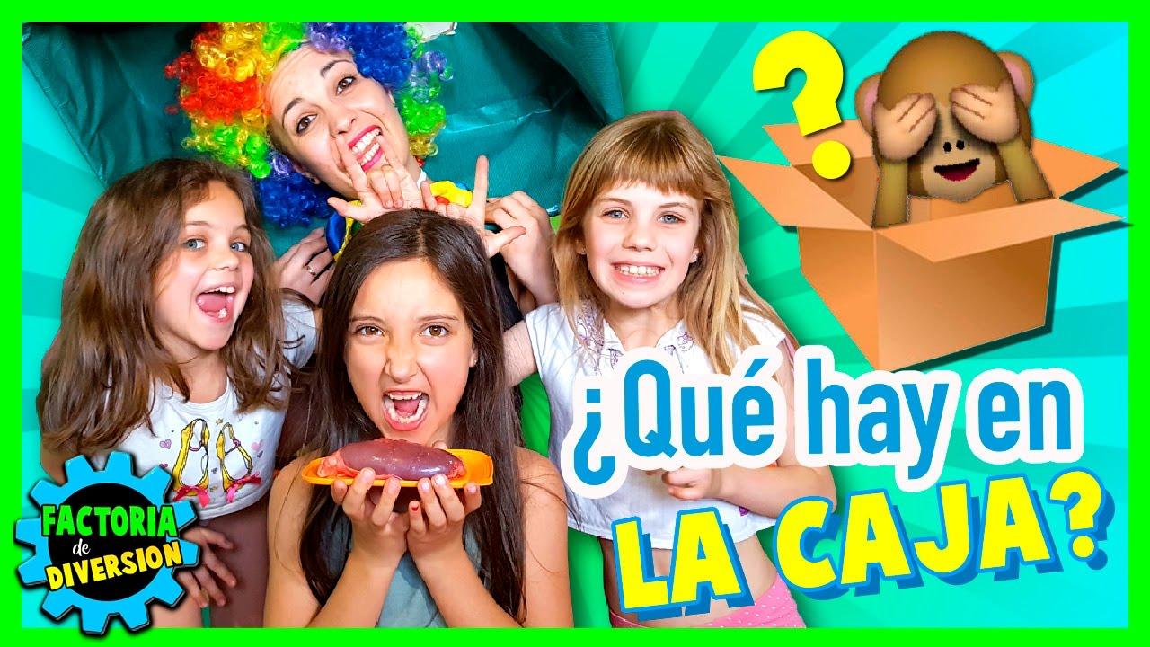 Qué Hay En La Caja Noa Hace El What S In The Box Juegos Divertidos Para Niños Youtube