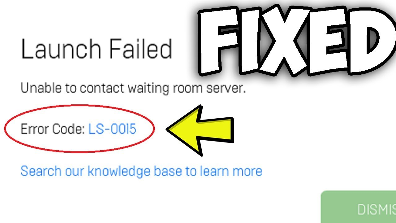 Fix Fortnite Quot Unable To Contact Waiting Room Server