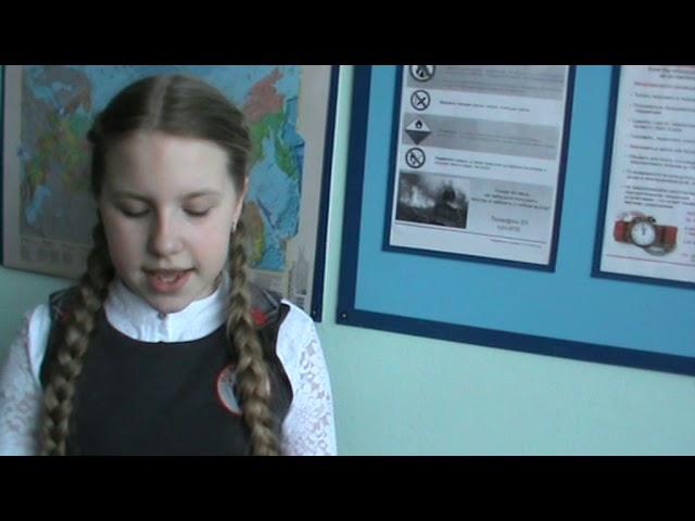 Изображение предпросмотра прочтения – ЕленаМоисеева читает произведение «Синие листья» В.А.Осеевой