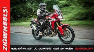 Honda Africa Twin | DCT Automatic | Road Test Review | ZigWheels.com