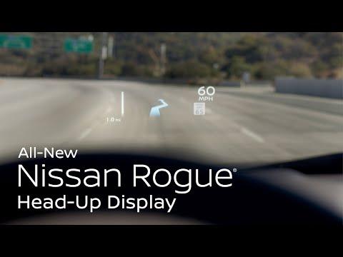 2021 Nissan Rogue Head-Up Display