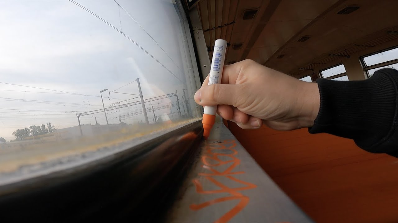 Download Graffiti review with Wekman Edding 750  755 Chrome and Orange Paint markers